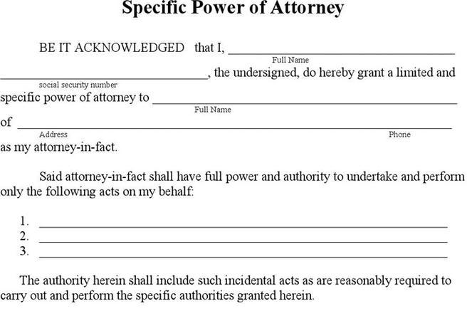 Download Power Of Attorney Form For Free Tidytemplates