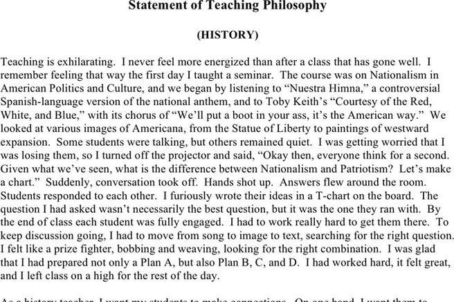 Download teaching philosophy examples for free tidytemplates maxwellsz