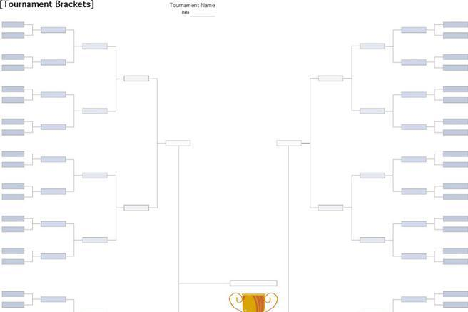 3+ Tournament Brackets Template Free Download