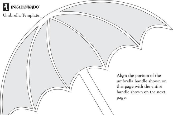 4  umbrella template free download