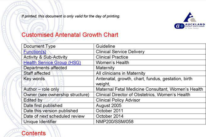 63 Baby Growth Chart Template Free Download