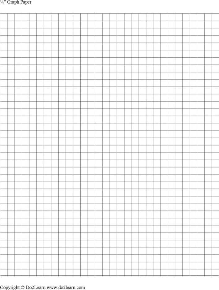 Download 14 Inch Graph Paper Template For Free