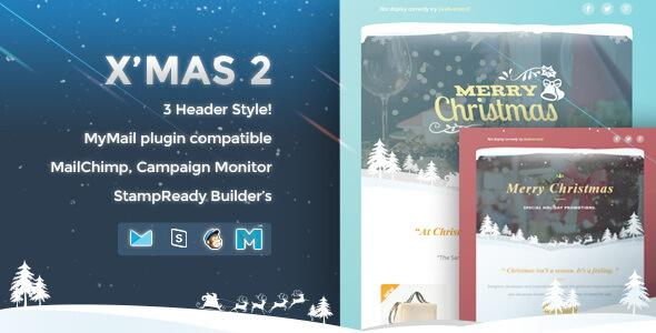 12 X-Must Christmas E-Mail Templates Html Format Page 1