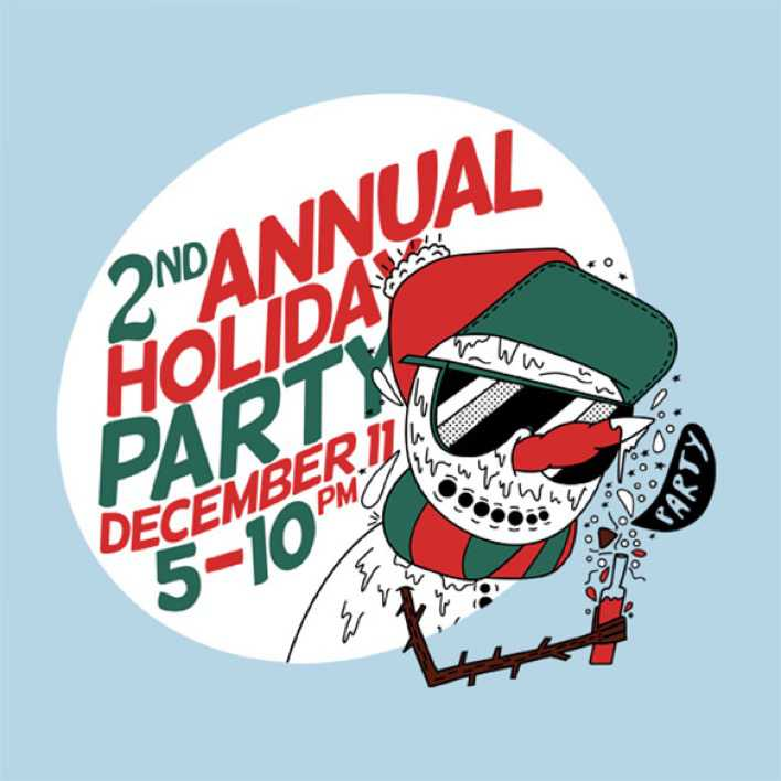 2nd AnnualDay Event Holiday Party Flyer Page 1