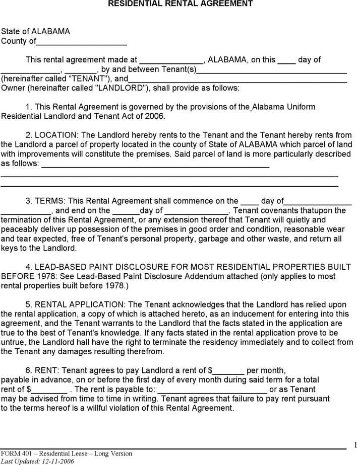 download alabama month to month lease agreement for free tidytemplates