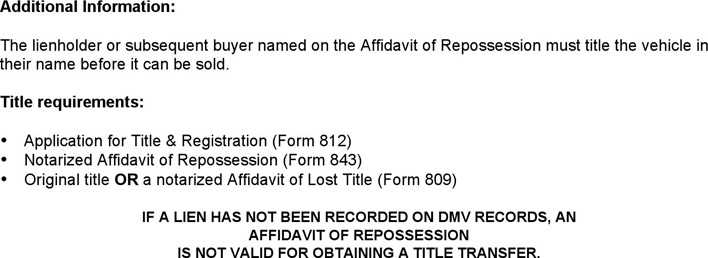Download Alaska Affidavit of Repossession Form for Free