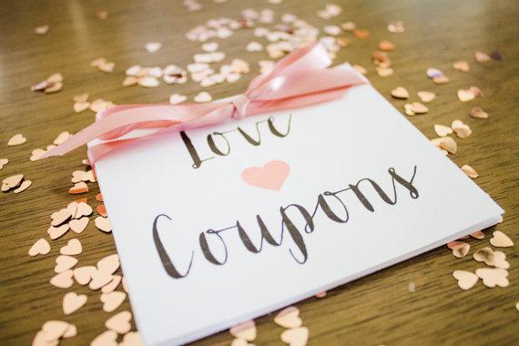 Anniversary Sample Coupon Book Template Page 1