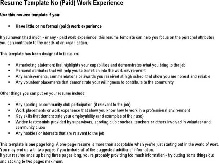 Download Babysitter No Experience Resume For Free