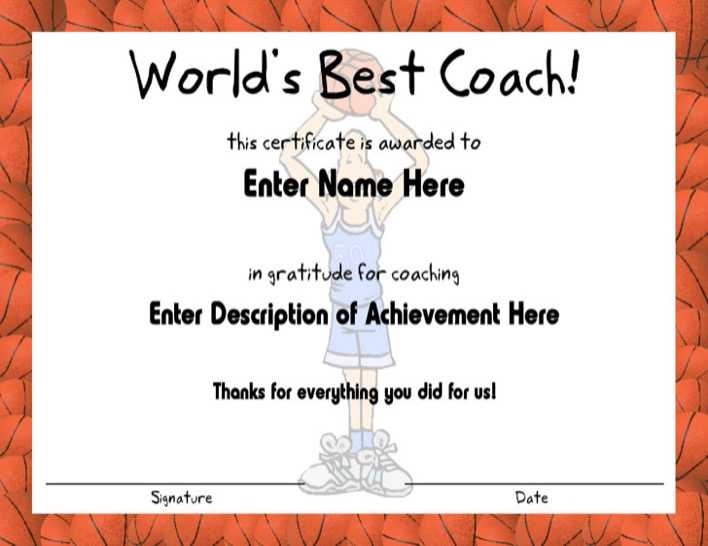 Download basketball fame coach certificate template for free basketball fame coach certificate template page 1 yadclub Choice Image