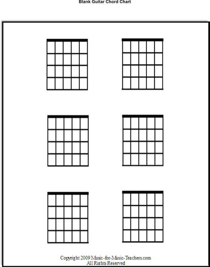 download blank guitar chord chart template for free