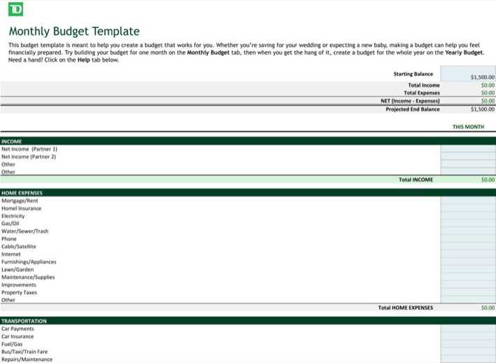 Download Business Budget Template Excel For Free Tidytemplates