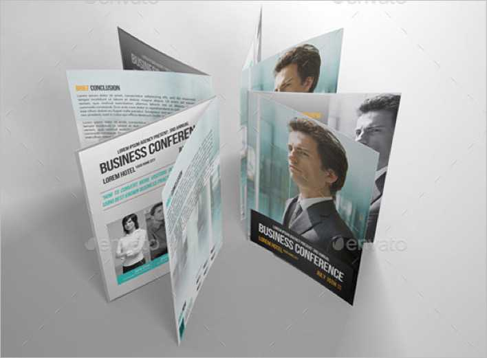 download business conference brochure template for free tidytemplates
