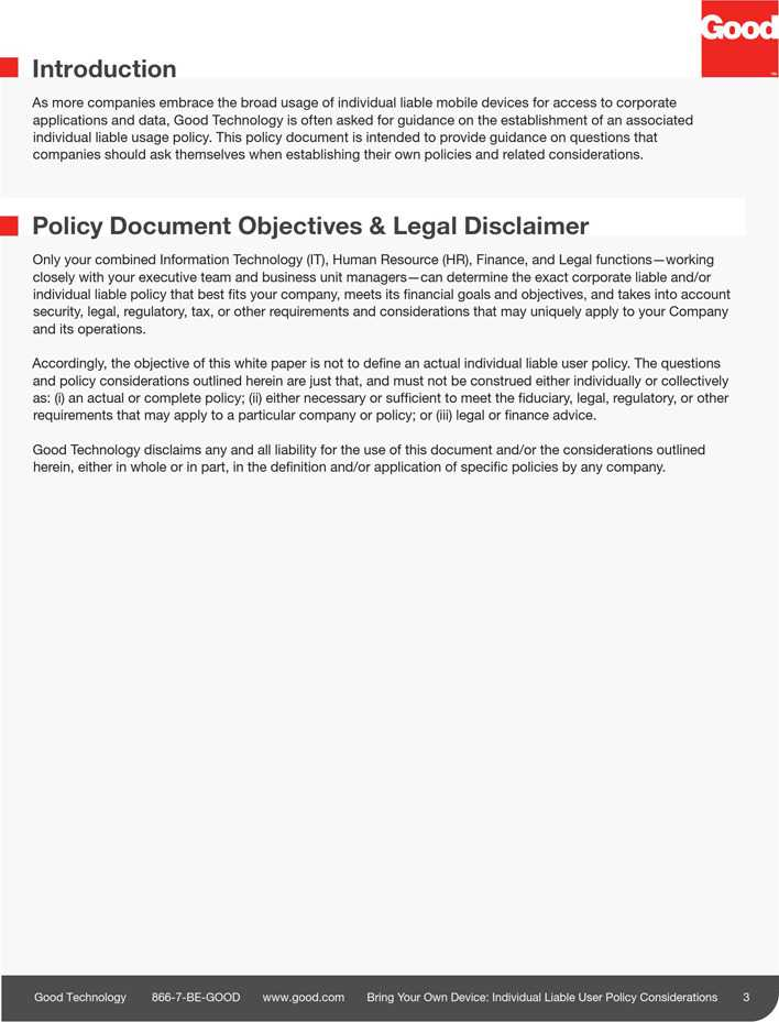 Download Byod Policy Sample 1 For Free Page 3 Tidytemplates