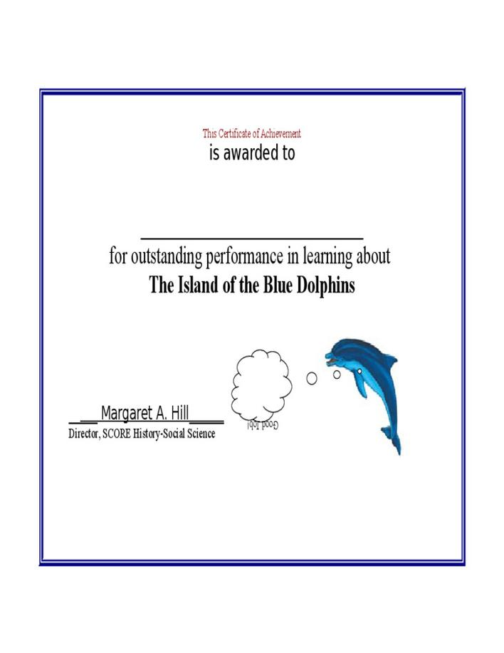 Download Certificate Of Achievement Template Free For Free