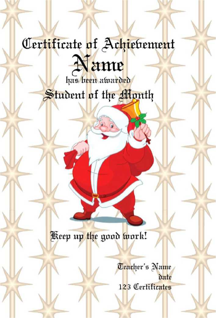 download christmas gift certificate pdf template free download for
