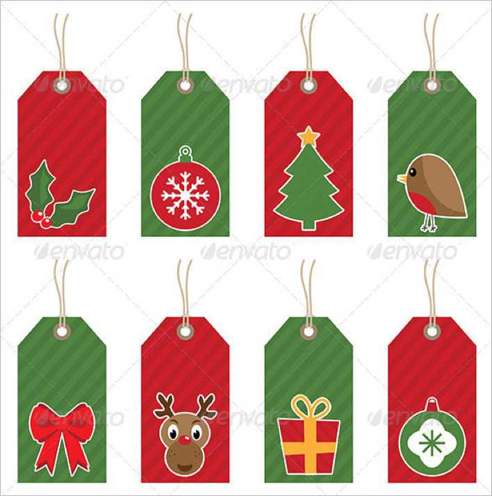 Christmas Gift Tags Ai Illustrator Download Page 1