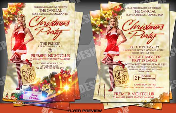 Christmas Party Flyer Official Sexy Sat Download Page 1