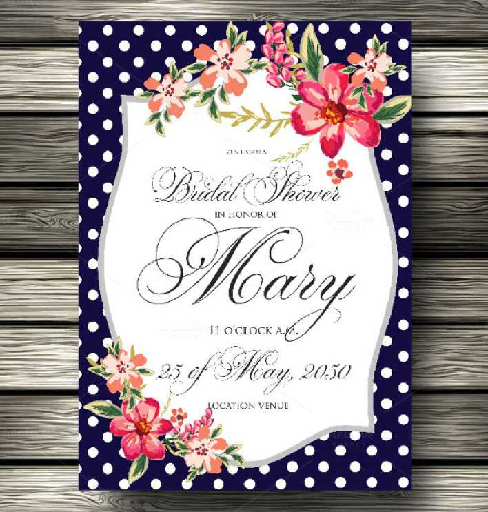 Colorful Background Wedding Invitation Template Download Page 1