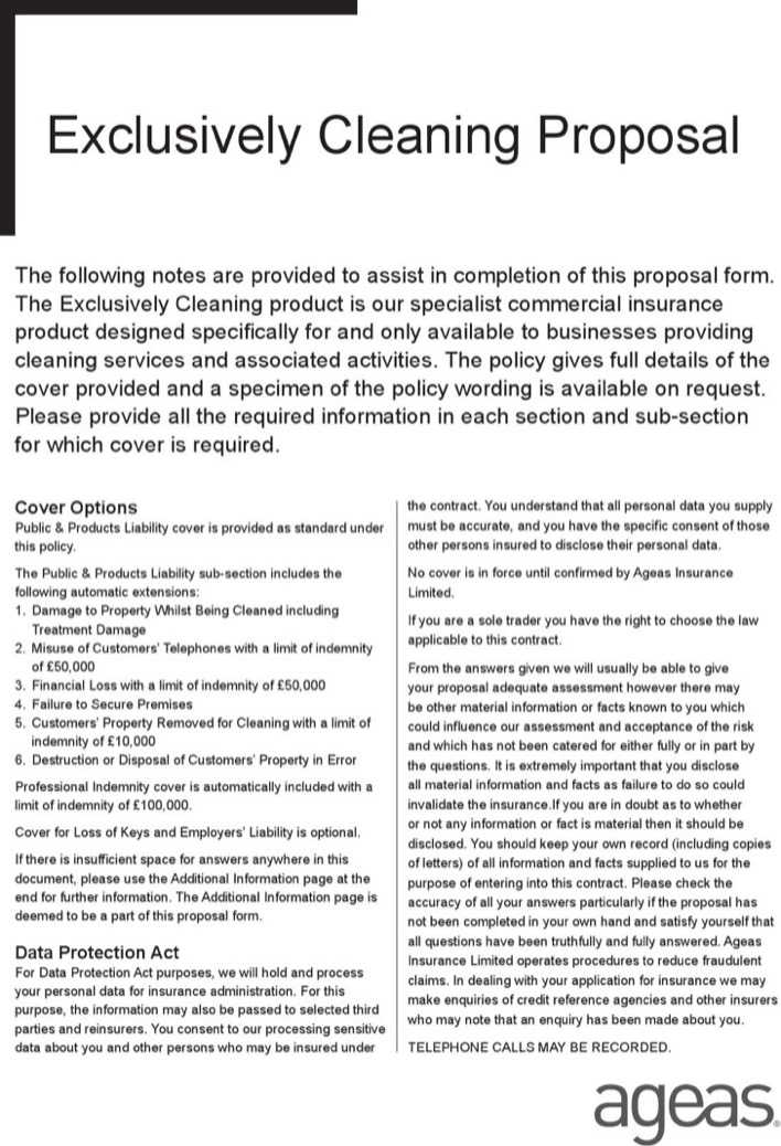 Download Commercial Cleaning Proposal Template for Free - TidyTemplates