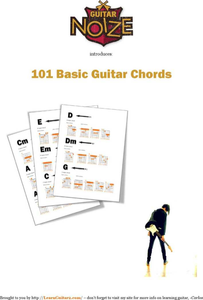 Download Complete Bass Guitar Chord Chart for Free - TidyTemplates