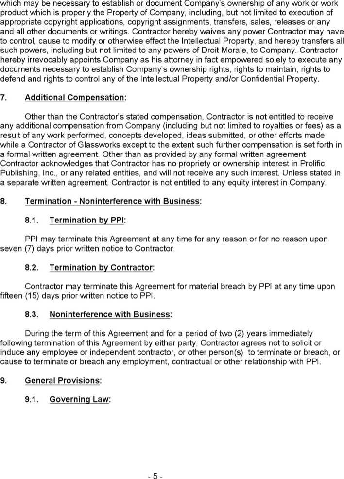 Download Contractor Confidentiality Agreement Template For Free