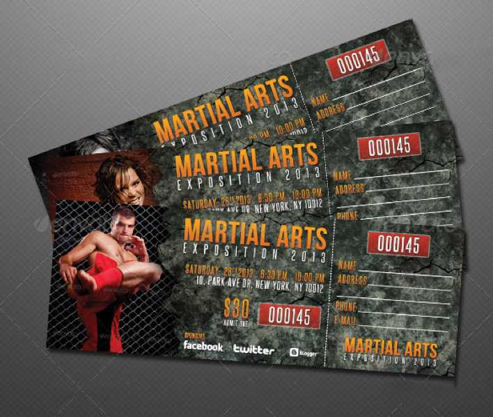 Creative Event Ticket Template Design Page 1