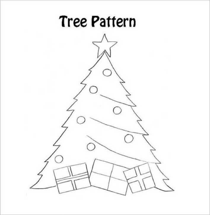 Download Christmas Tree with Presents Page 1
