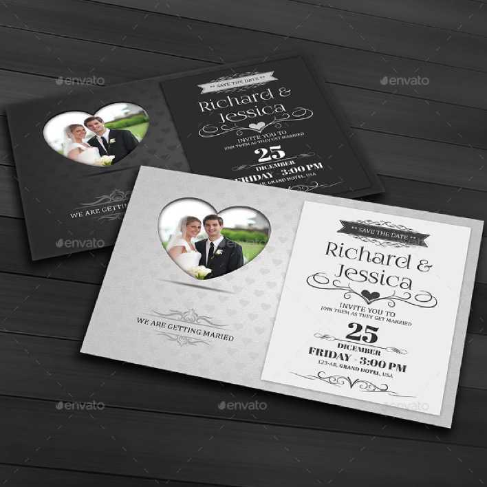 Easy To Edit Wedding Invitation Template For Download Page 1
