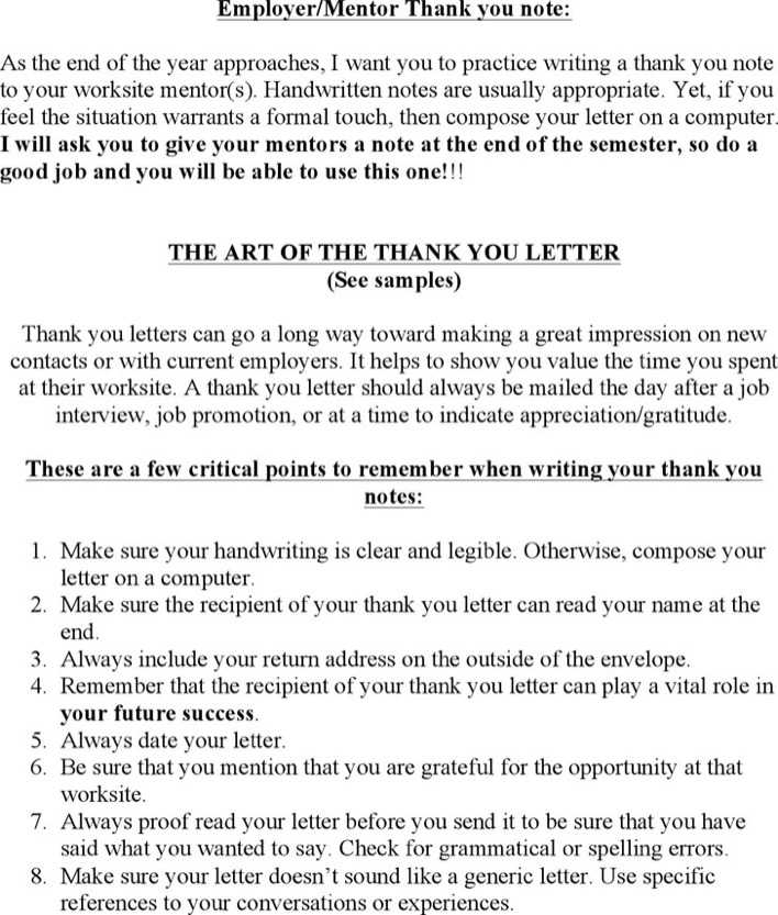 Download Employermentor Thank You Note For Free Tidytemplates