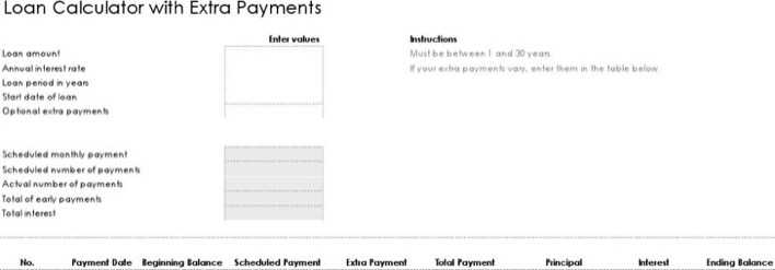 download free download loan payment calculator in excel for free
