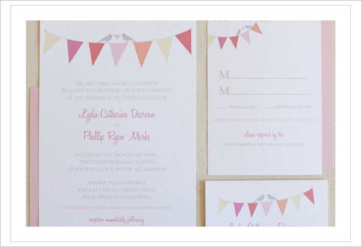 Free Printable Wedding Invitation Template Download Page 1