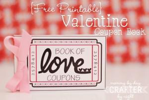 Free Valentine Coupon Book Template Page 1