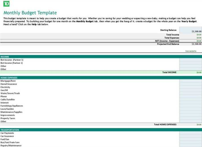 Download Free Yearly Budget Template Download For Free Tidytemplates