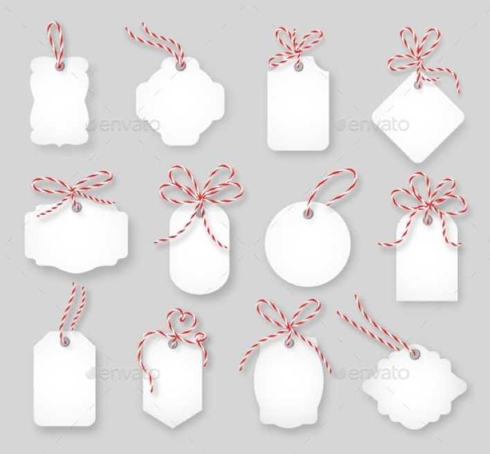 Gift Cards Tied Up With Twine Bow Vector EPS Format Page 1