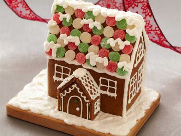 Gingerbread House Recipe Template Free Page 1