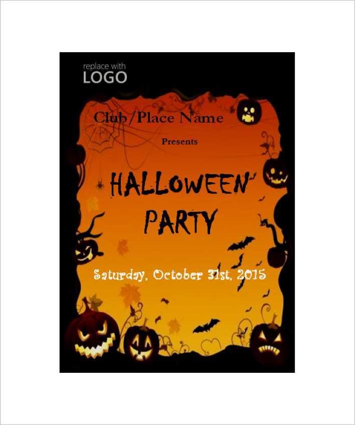 Download Halloween Party Invitation Templates Microsoft