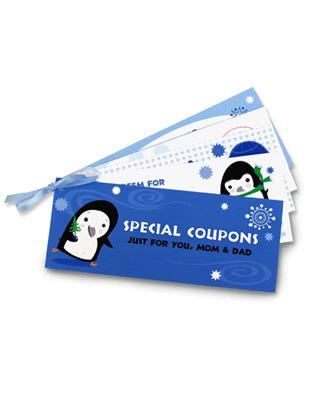 Holiday Coupon Book Template Page 1