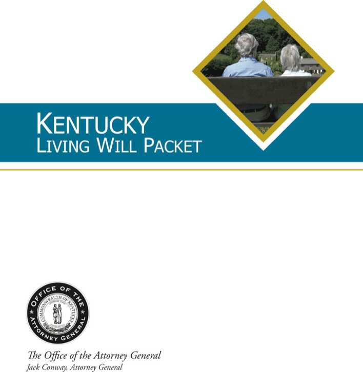 Download Kentucky Living Will Directive Form For Free