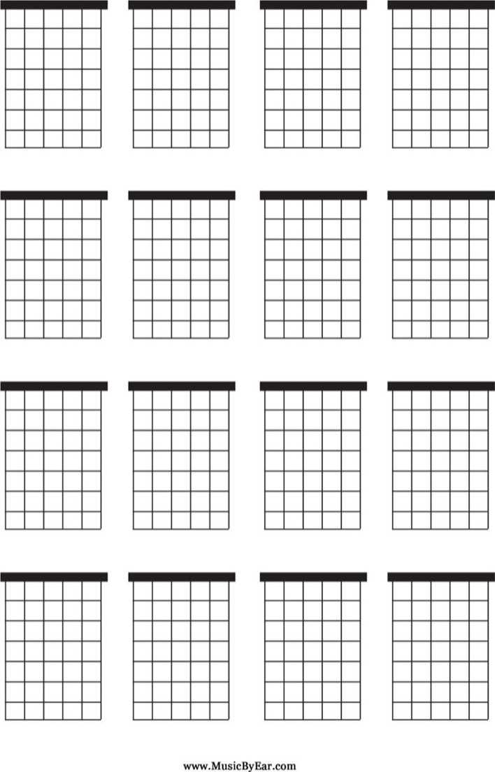 Download Large Blank Guitar Chord Chart for Free ...