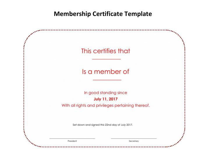 lifetime-membership-certificate-template-word-doc-download-1 Of Good Standing Letter Template In Word on no longer employed, catholic church, for firefighters, baptist church,