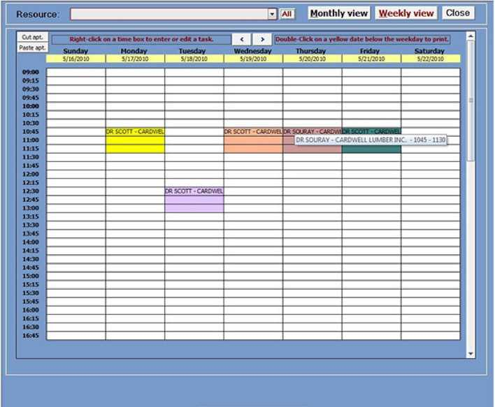 Download ms access appointment planner template 2010 for Ms access templates 2013