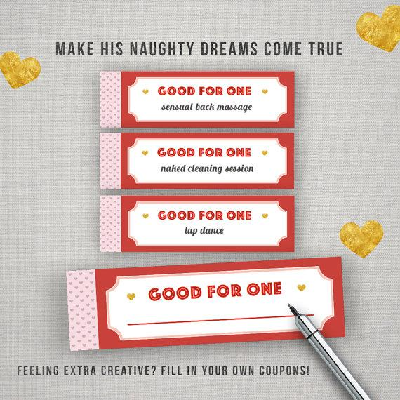 Naughty Sample Coupon Book Template Page 1