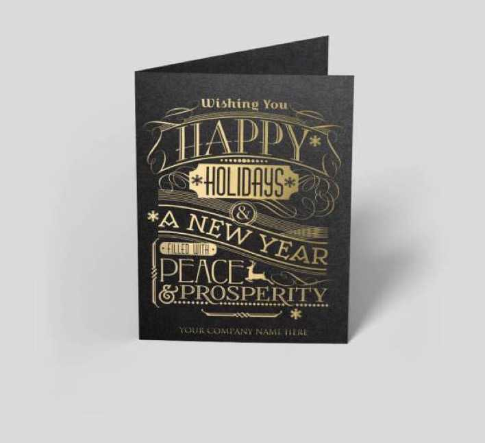 New Year Gatsby Greeting Card Template Download Page 1