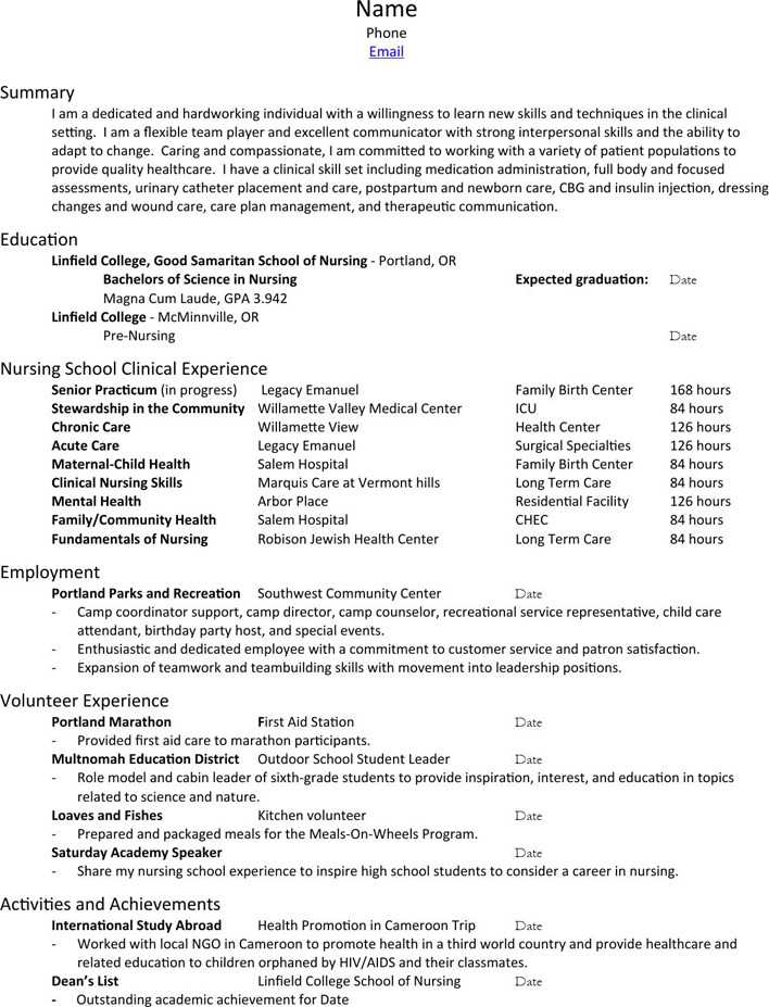 download nursing resume  u0026 cover letter packet for free