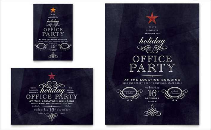 Office Holiday Party Flyer - $99 Page 1