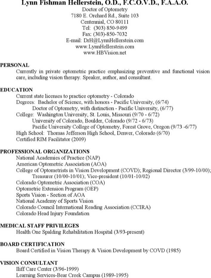 Download Optometrist Medical Assistant Resume For Free