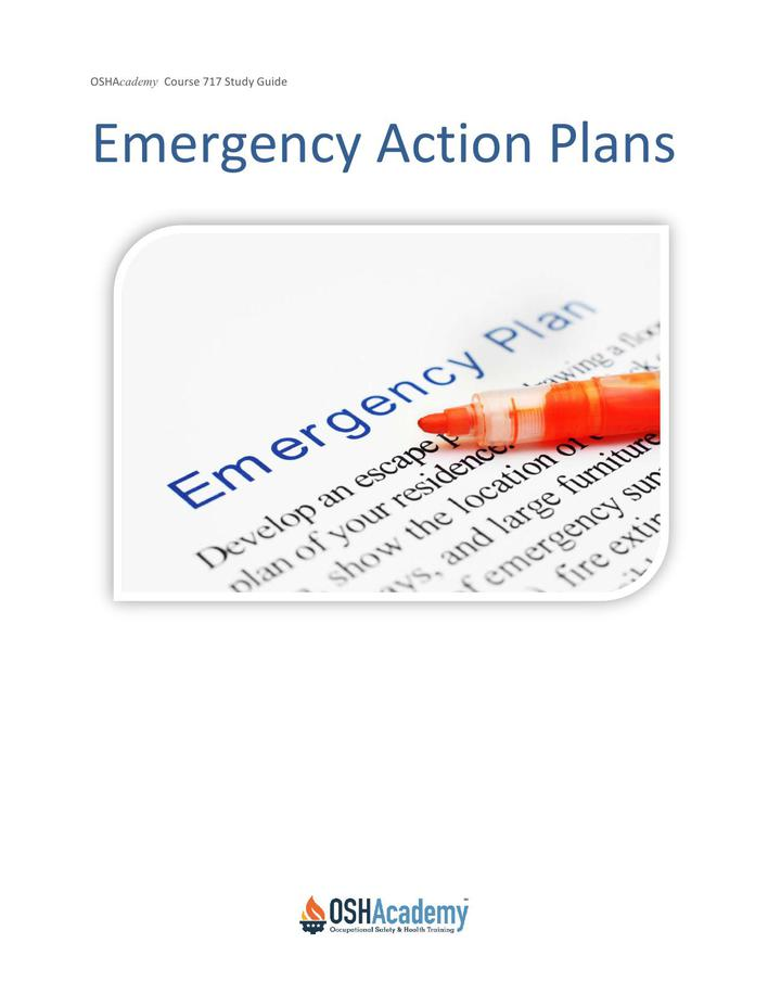 Download Osha Emergency Action Plan Template for Free