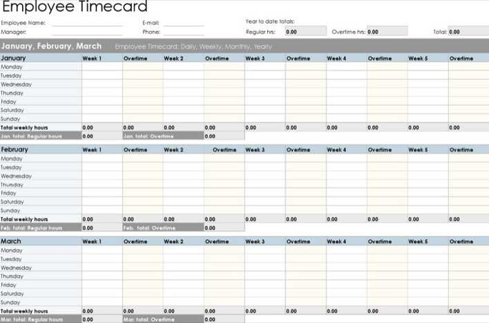 Overtime Sheet Template Download In Excel Format Page 1