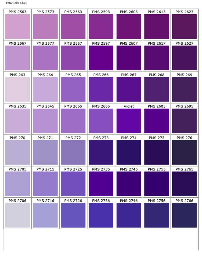 Download Pantone Matching System Color Chart For Free Page 6