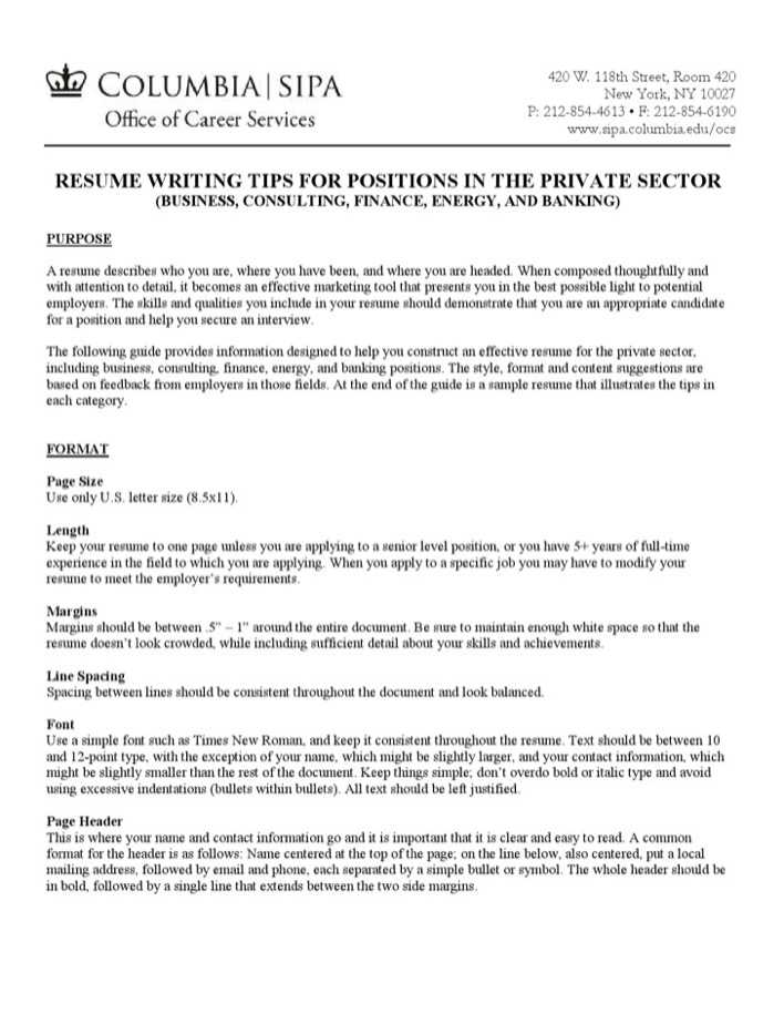 Personal Banker Resume Sample Page 1